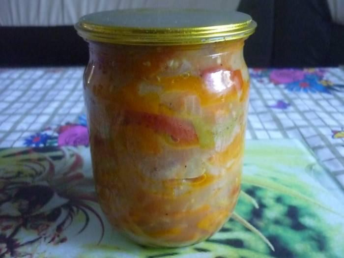Салат на зиму из переросших огурцов