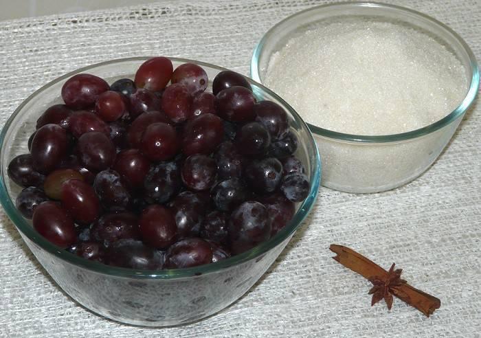 Простое варенье из винограда: украшаем зимнее чаепитие вкусным лакомством