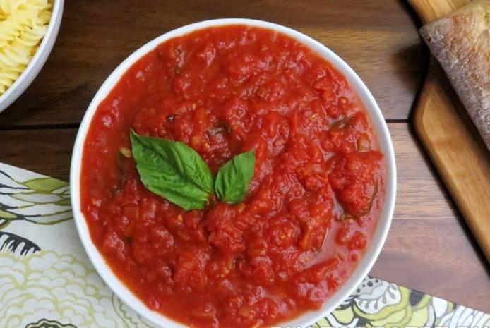 Томатный соус на зиму - 140 домашних вкусных рецептов приготовления