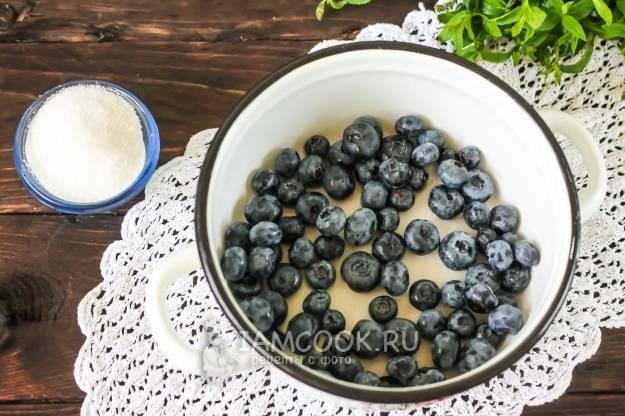 Простые рецепты компота из черники на зиму в домашних условиях, секреты хранения