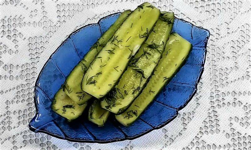 Малосольные огурцы в пакете: рецепты быстрого приготовления