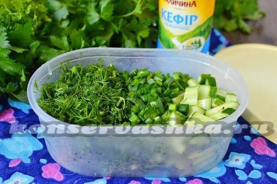 Сколько может храниться в холодильнике окрошка с разными заливками