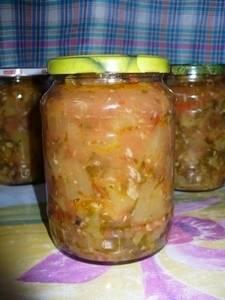 25 «золотых рецептов» салатов из кабачков на зиму