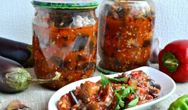 2 лучших рецепта приготовления баклажанов в масле на зиму