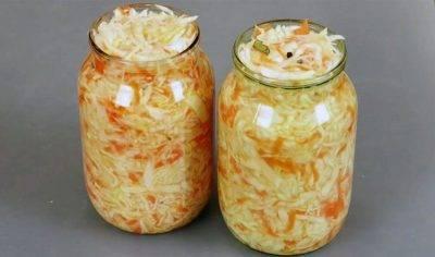 Вкусная хрустящая квашеная капуста в рассоле
