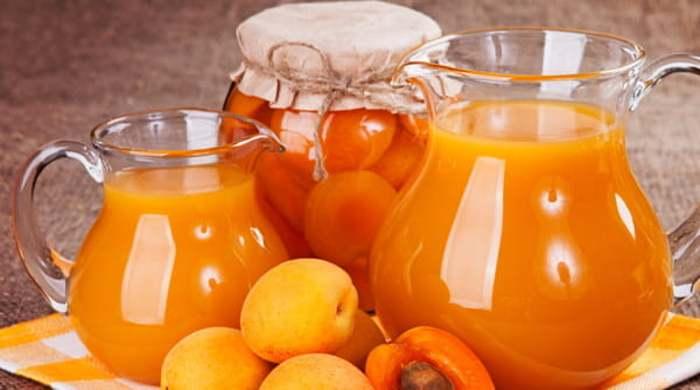 Как сварить компот из абрикосов и заготовить его на зиму
