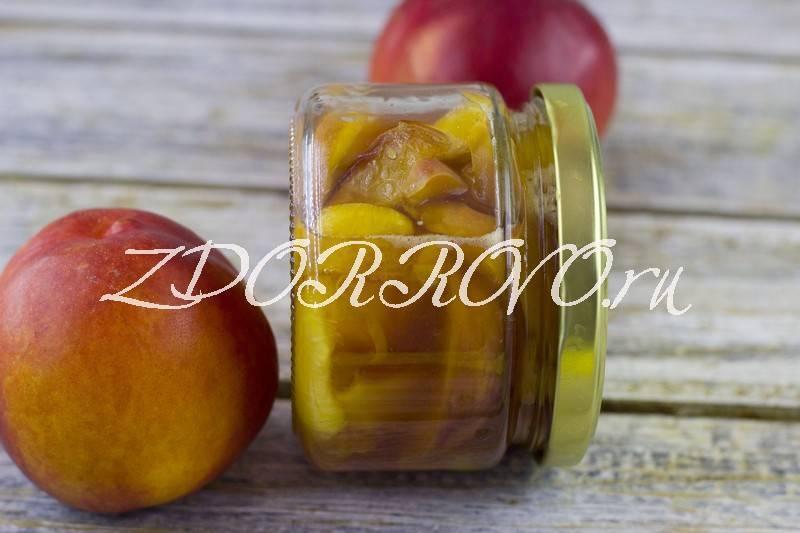 Джем из персиков на зиму - 5 простых рецептов с фото пошагово