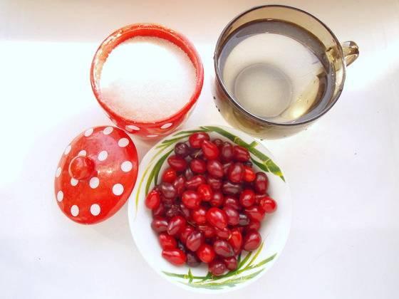 Как приготовить компот из кизила на зиму по пошаговому рецепту с фото