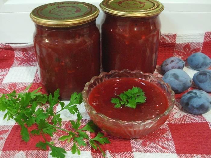 Рецепты кетчупа из слив на зиму в домашних условиях пальчики оближешь
