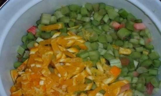 Рецепт варенья из ревеня с лимоном на зиму