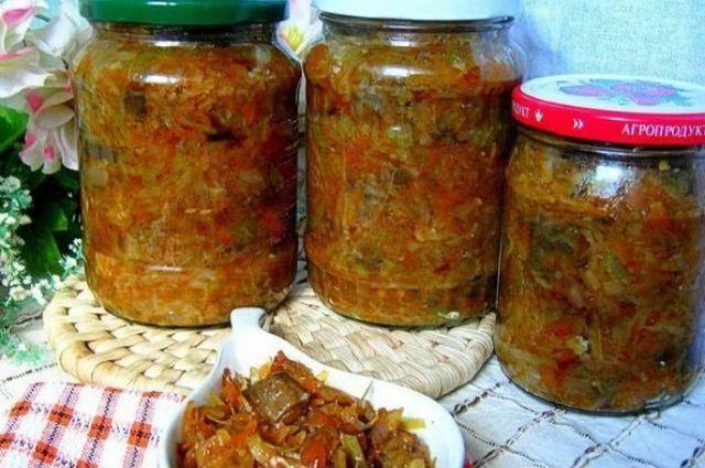 4 лучших пошаговых рецепта приготовления на зиму баклажанов с рисом