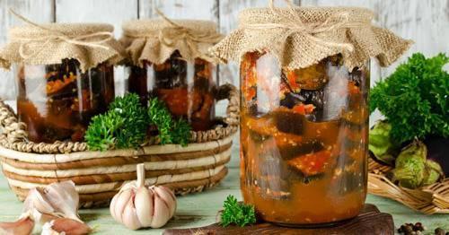 4 простых рецепта консервирования запеченных овощей на зиму