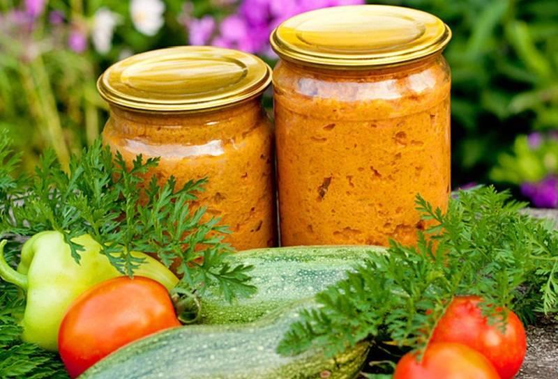 Кабачковая икра с майонезом и томатной пастой на зиму: топ 5 рецептов