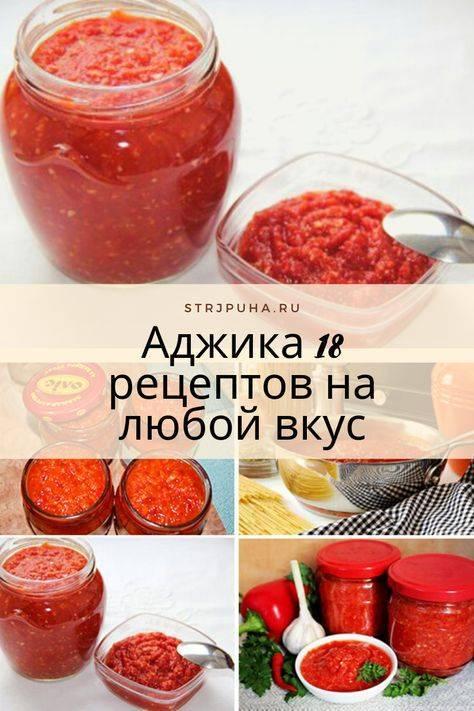Аджика из алычи на зиму: 5 лучших рецептов приготовления, правила хранения