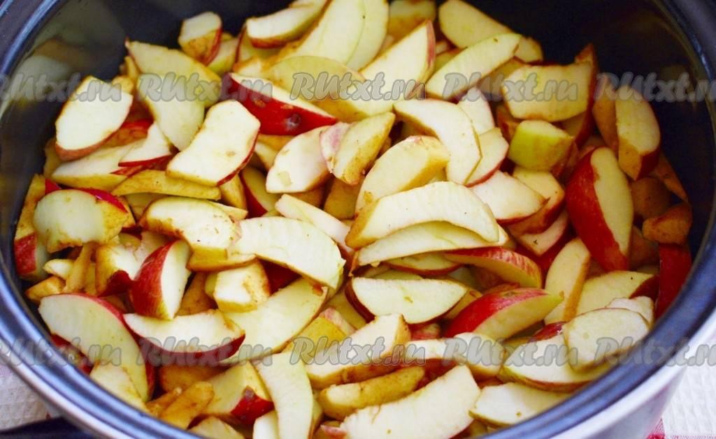 Пошаговый рецепт приготовления яблочного повидла с корицей на зиму
