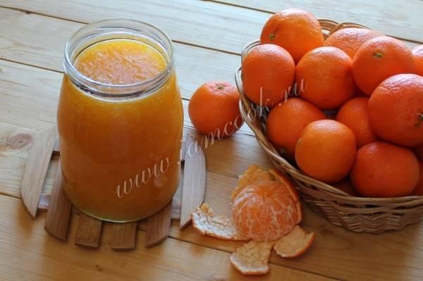 Рецепты варенья из мандаринов: дольками, половинками, целыми
