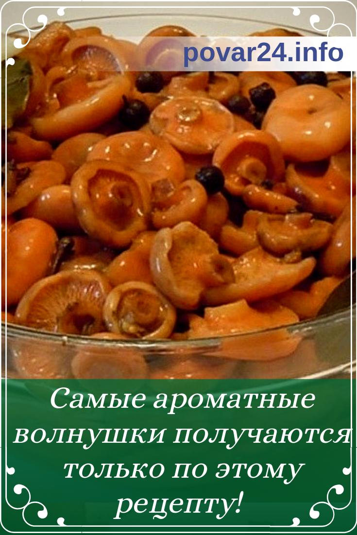 ТОП 10 рецептов приготовления маринованных волнушек в банках на зиму
