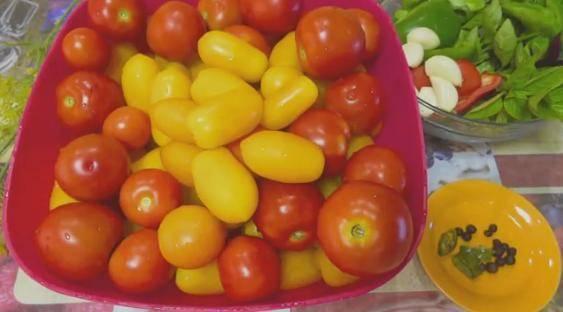 Армянчики из зелёных помидор рецепт на зиму