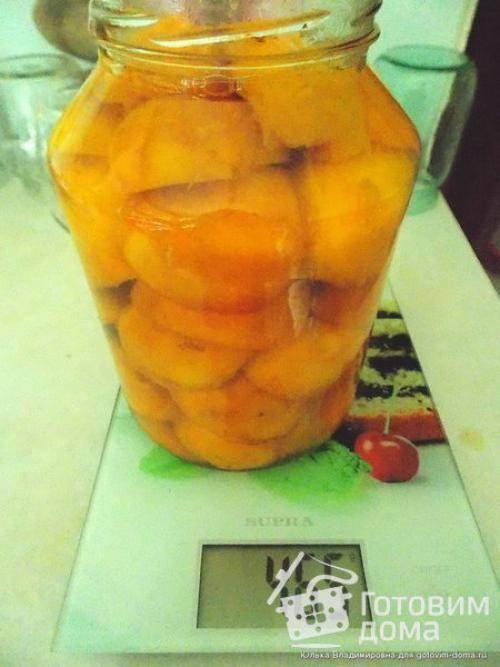 7 лучших рецептов приготовления персиков в сиропе на зиму