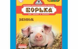 Корм для свиней пурина