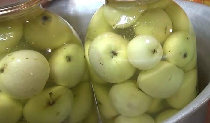 Рецепт моченых яблок в домашних условиях