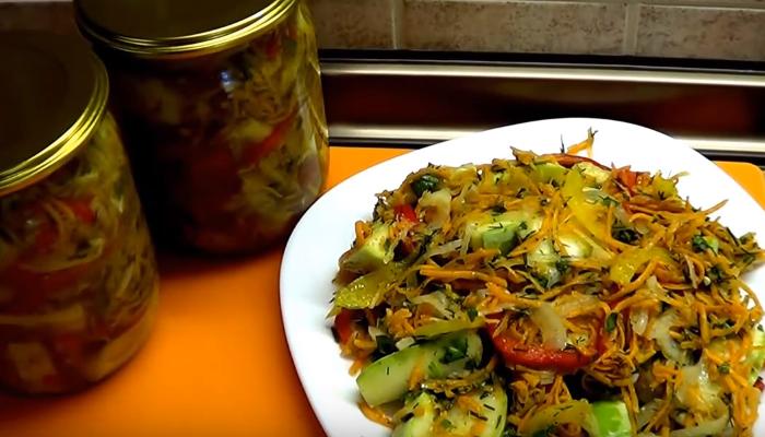 Готовим кабачки по-корейски: быстрые маринованные закуски и рецепт на зиму