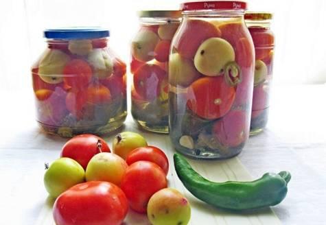 Рецепты маринования помидоров по-немецки с яблоками
