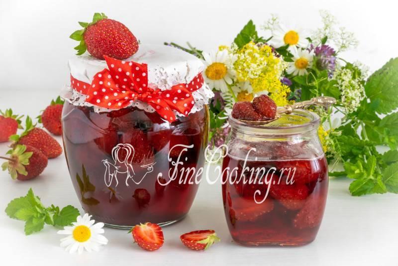 Варенье из клубники на зиму — 4 рецепта густого варенья с целыми ягодками