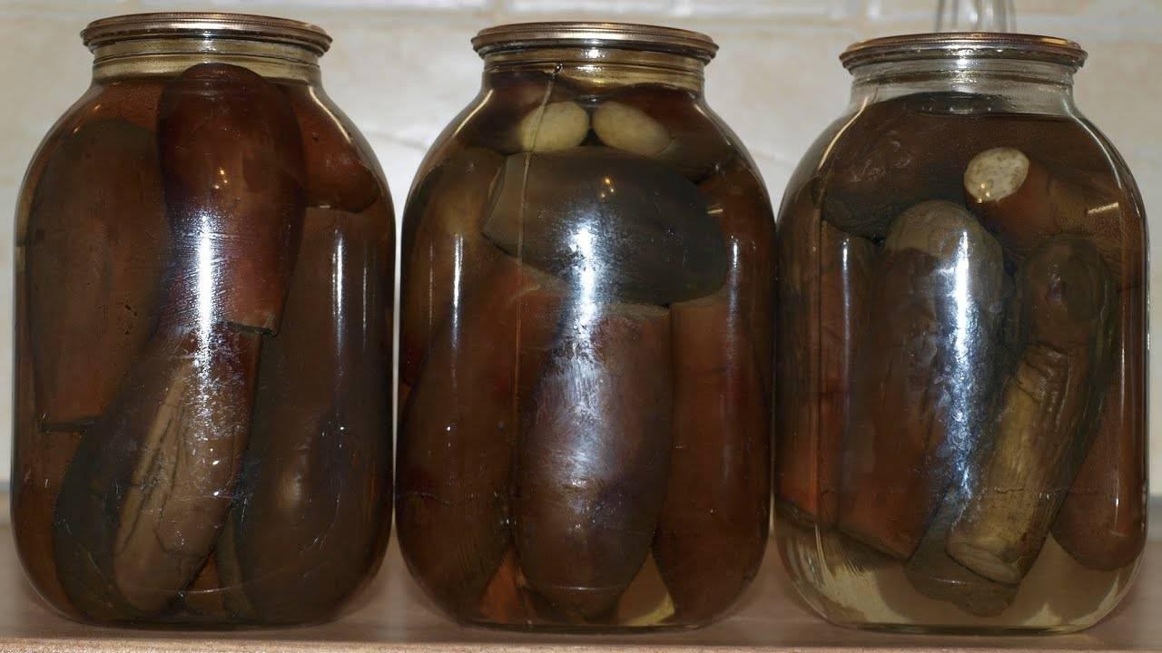 Баклажаны на зиму целиком: вкусные рецепты приготовления консервации