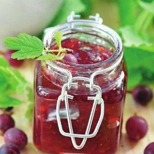 Варенье из крыжовника: царское, изумрудное, с вишневыми листьями и пр. коллекция рецептов