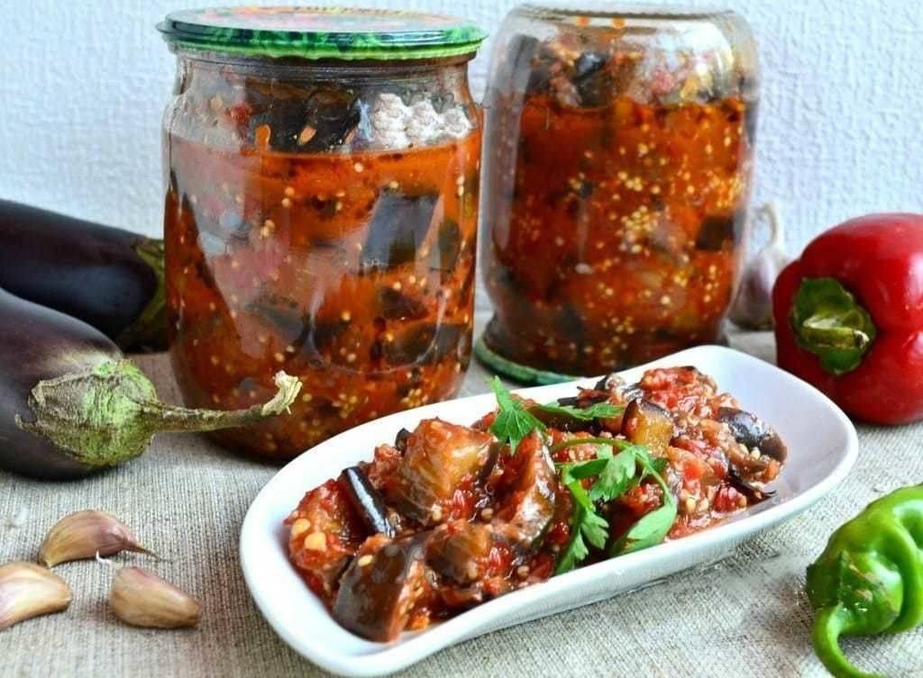 Манжо из баклажанов – ярко и аппетитно! рецепты закуски (салата) манжо из баклажанов на зиму: классические, с фасолью, кабачками