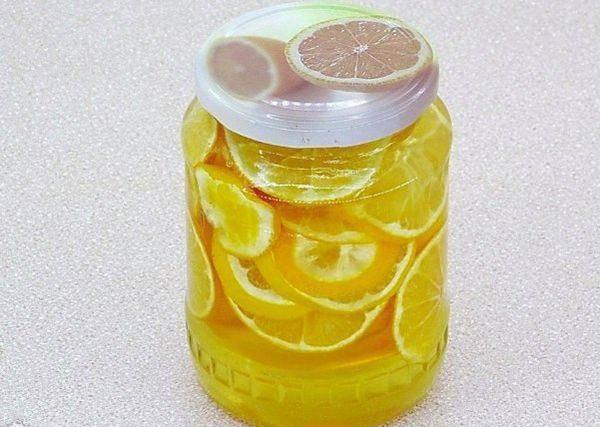 Консервированный лимон с сахаром