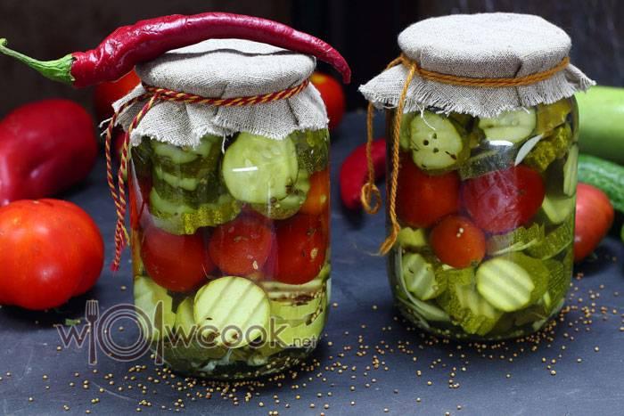 Салат ассорти на зиму — золотые рецепты заготовок из овощей