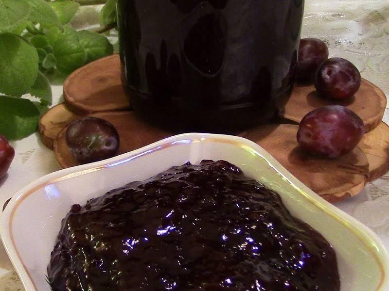 Простой рецепт приготовления яблочно-сливового джема на зиму