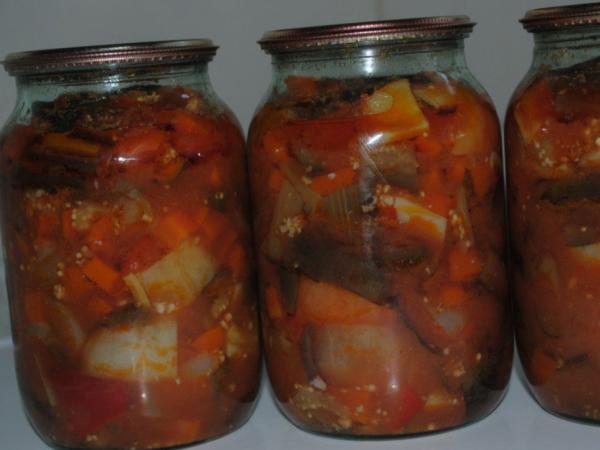 Жареные баклажаны на зиму без стерилизации