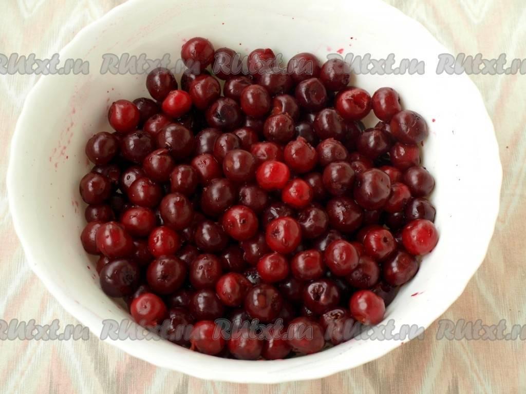 Желе из вишни на зиму без желатина