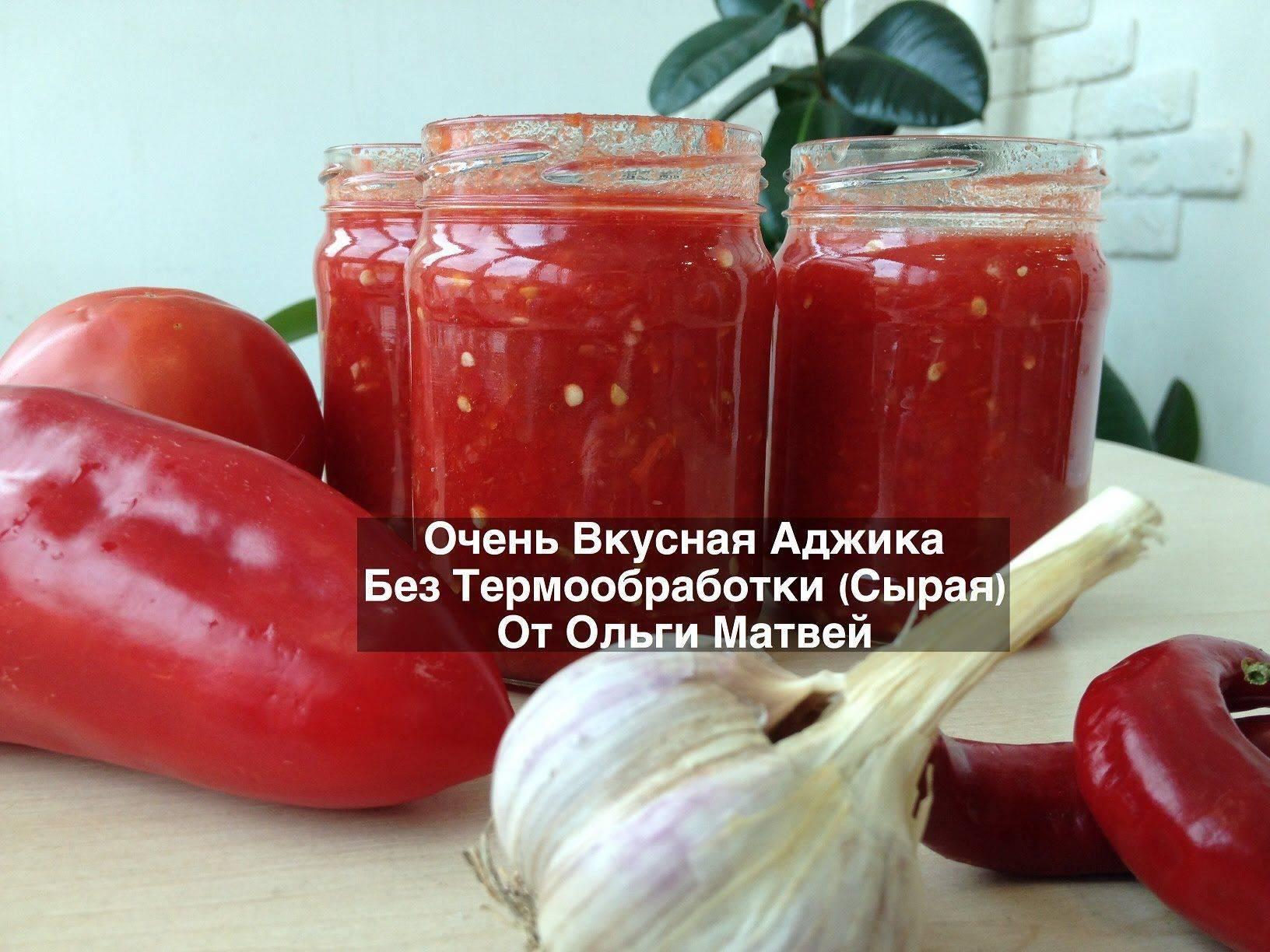 Аджика из помидор с яблоками на зиму — рецепты приготовления