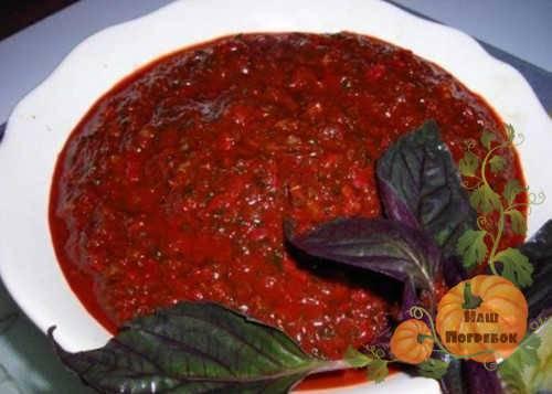 Аджика: лучшие рецепты из помидоров на зиму с фото
