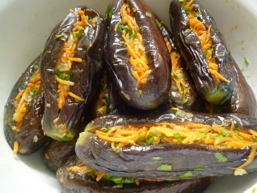 Баклажаны по-азербайджански: рецепт и фото