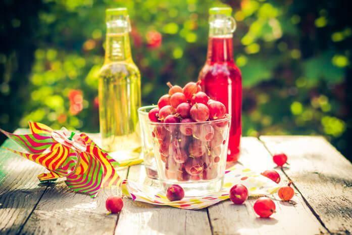 5 лучших рецептов приготовления сока из крыжовника в соковарке на зиму