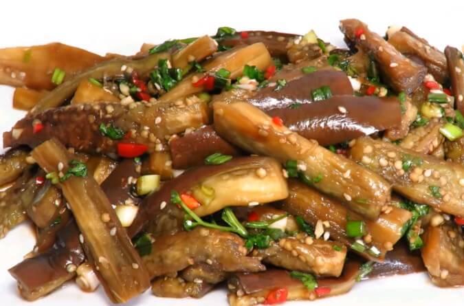 Самые вкусные и лучшие рецепты баклажанов по-корейски на зиму