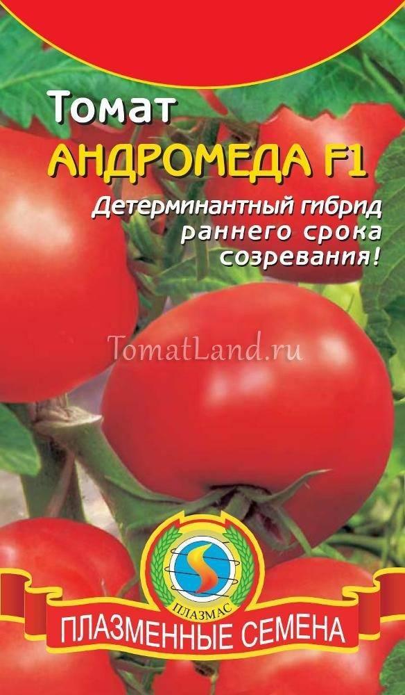 Характеристика и описание сорта томата Андромеда, его урожайность
