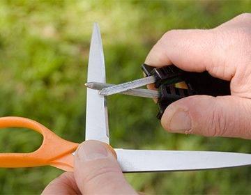 Как заточить ножницы в домашних условиях — способы заточки