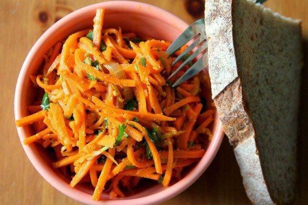 Маринованная морковь быстрого приготовления