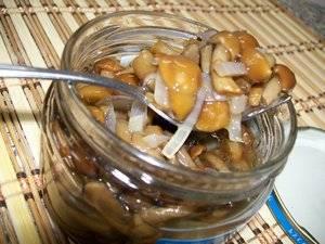 Срок хранения маринованных грибов домашнего приготовления