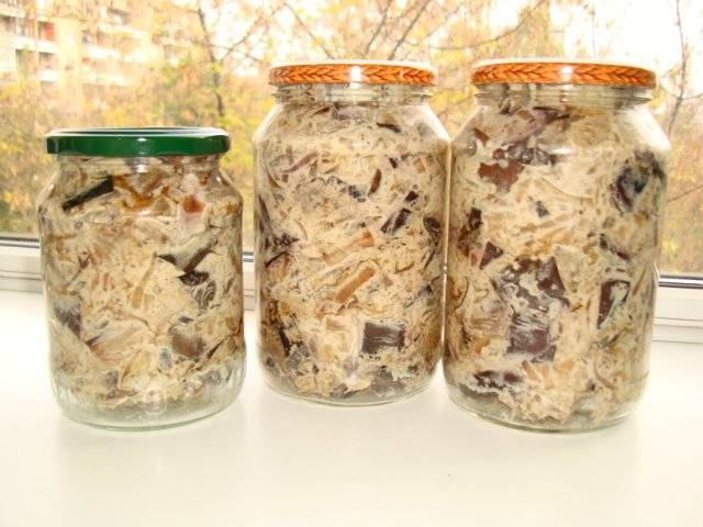 Баклажаны с майонезом на зиму со вкусом грибов: лучшие рецепты