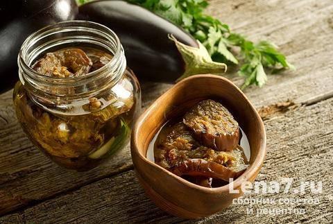 Салат «десяточка» из баклажанов на зиму