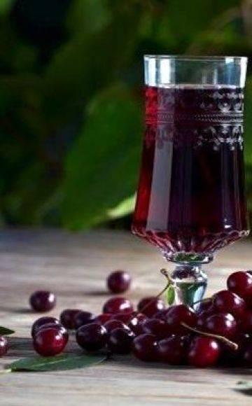 Как самому сделать вино из черешни дома