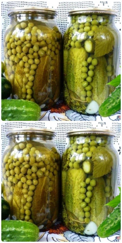 Как заготовить зеленый горошек на зиму в домашних условиях