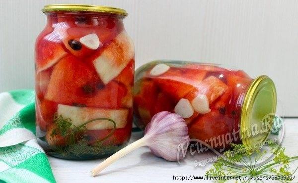 Подборка рецептов маринования арбузов на зиму